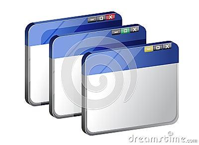 Conjunto de navegadores