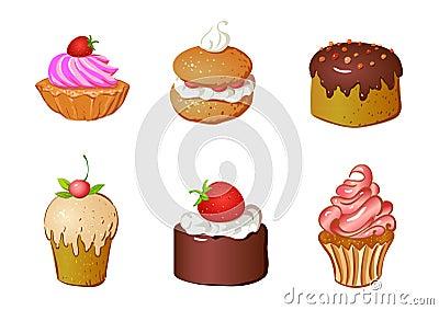 Conjunto de tortas