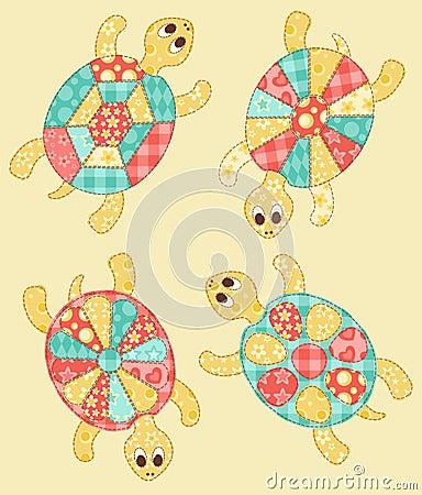 Conjunto de tortugas.