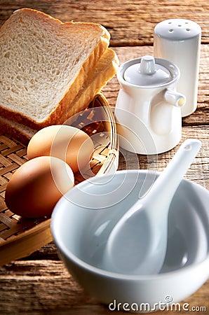 Conjunto del desayuno