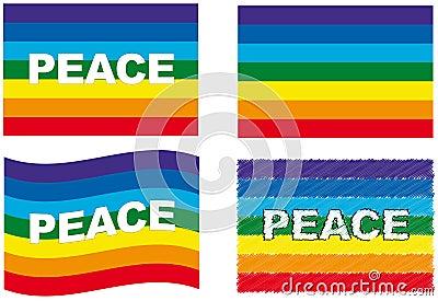 Conjunto del indicador de la paz