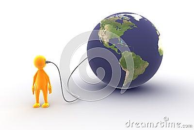 Connecté au monde
