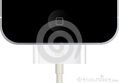 Connected iPhone Editorial Stock Photo