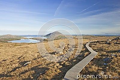 Connemara National Park in Ireland.