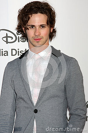 Connor Paolo arrives at the ABC / Disney International Upfronts Editorial Stock Image