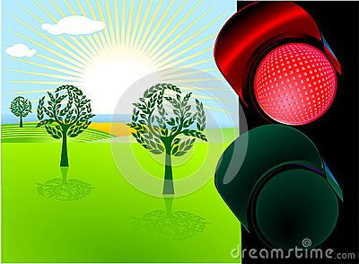 Conservation and red light