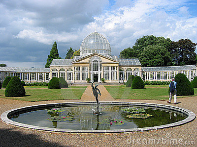 Conservatory at Syon Park Mansion Editorial Photo