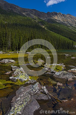 Consolation Lakes in Banff