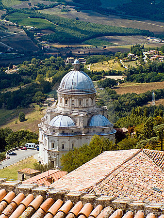 Free Consolazione Temple In Todi Stock Photos - 9542133