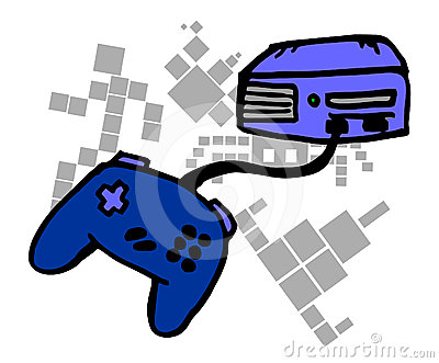 Console cartoon