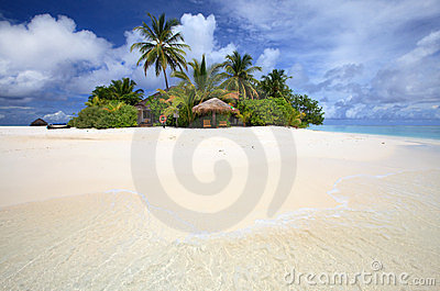 Console tropical, paraíso do coulpe.
