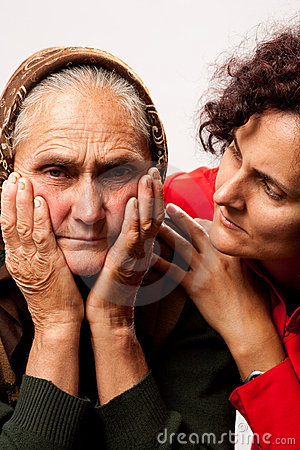 Consoling the elderly