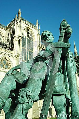 Constantine (1) cesarz Obraz Editorial
