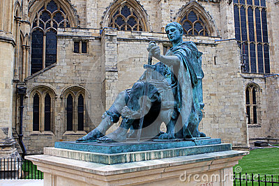 Constantine the Great, York, England Editorial Photo
