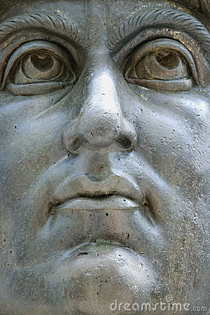 Free Constantine I Statue, Rome, Italy Royalty Free Stock Image - 2041846