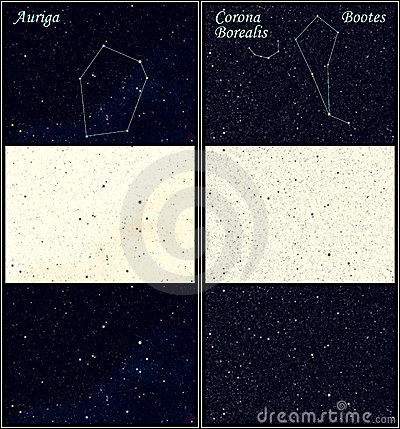 Constellation Auriga Bootes