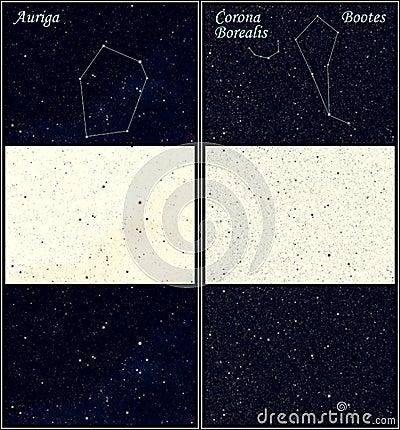 Constellation Auriga Bootes
