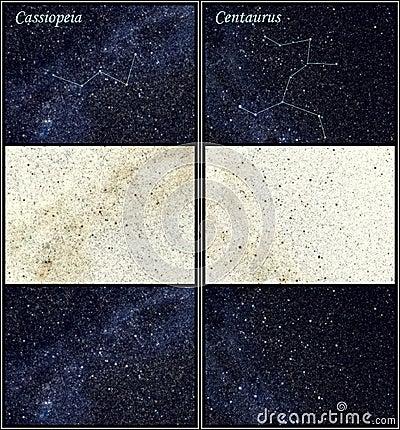 Constellation Cassiopeia Centaurus