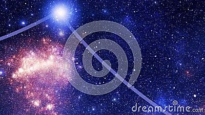 Constellation Corvus (Crv) stock video