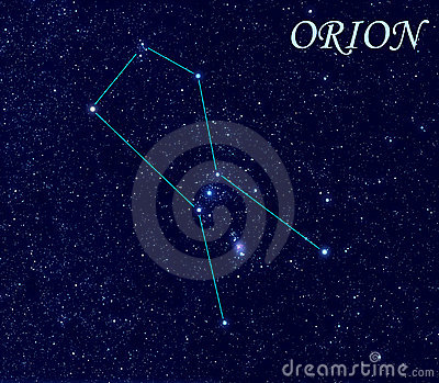 Constellation Orion Royalty Free Stock Images Image