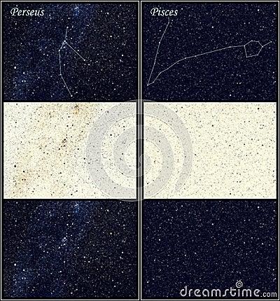 Constellation Perseus Pisces