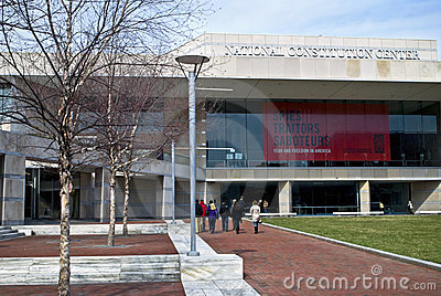 Constitution Center Philadelphia Editorial Stock Image