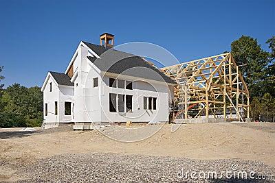Construção da casa nova