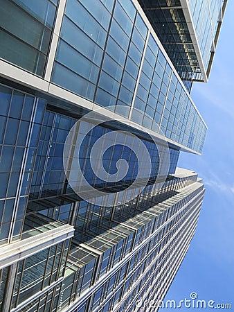Construções de Canary Wharf
