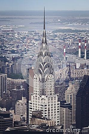 Construcción de Chrysler Imagen de archivo editorial