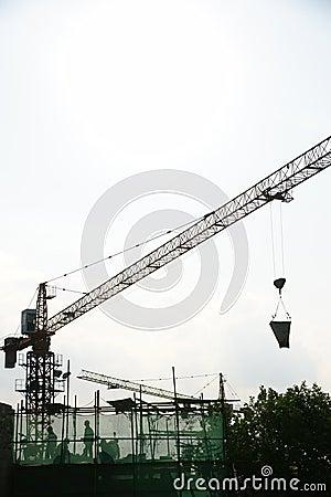 Free Constructing China Stock Image - 5483851