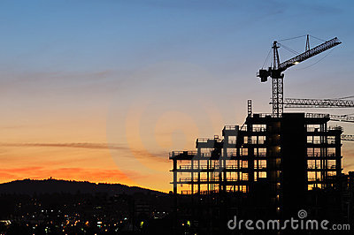 Construction of 2010 Winter Olympic Village