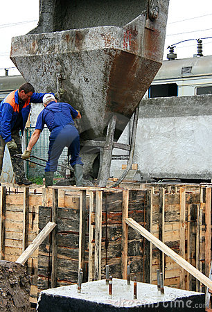 Construction Editorial Photo