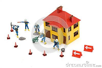 Construction site toys mija
