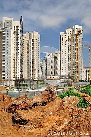 Construction area.