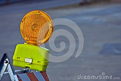 Construction Barricade Light