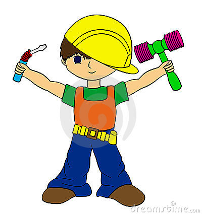 Construction boy