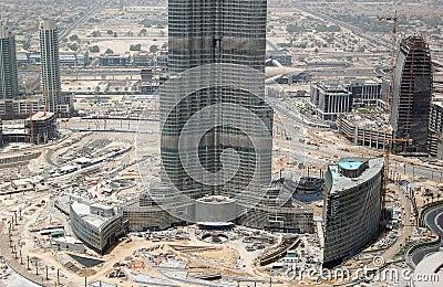 Construction of Burj Dubai (Burj Khalifa)