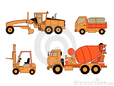 Construction cars | Set 2
