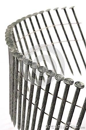 Construction Coil Nails Detail