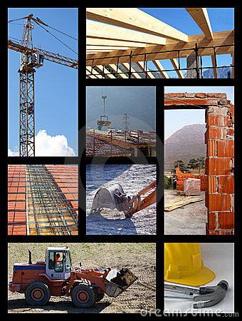 Free Construction Collage Royalty Free Stock Image - 10221816