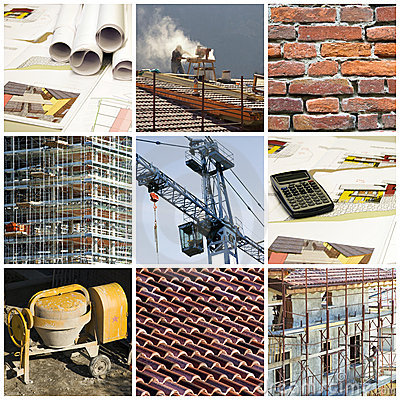 Free Construction Collage Stock Images - 7123784