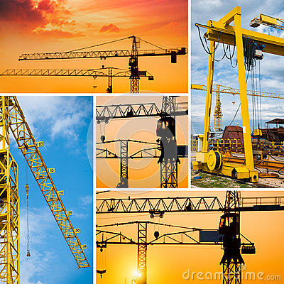 Construction collage stock image image 30610151 for Definition construction