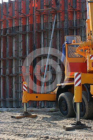 Construction concrete wall 4