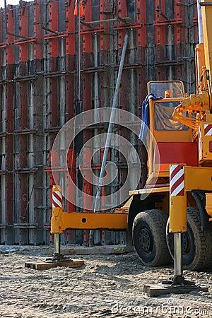 Construction concrete wall 4