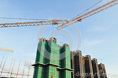 Construction condominiums buildings