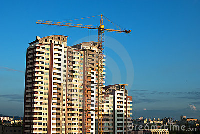 Construction of condos