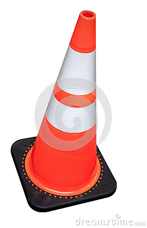 Free Construction Cone Stock Photography - 27457972