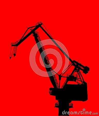 Free Construction Crane Royalty Free Stock Photos - 1137378