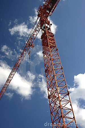 Free Construction Crane Stock Photography - 158852