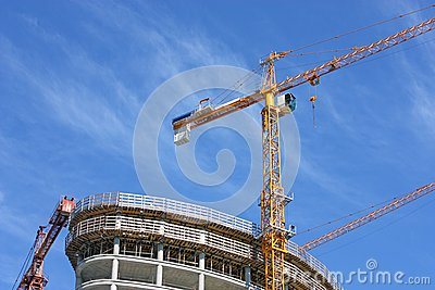 Construction Crane Royalty Free Stock Image - Image: 19588676